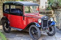 Red Austin 7 Vehicle UK