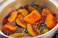 Simmered Pumpkin (Cucurbita)