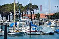 San Francisco yacht harbor