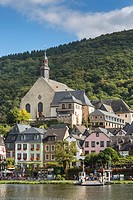 The picturesque village of Beilstein with river Moselle, Rhineland-Palatinate, Germany, Europe
