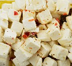 Feta Cheese With Olive Oil And Herbs