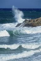 Italy - Tuscany Region - Elba Island - Sea storm