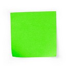 sticky note square reminder
