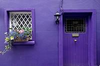 Purple Cottage, Kinsale, Ireland, Republic of Ireland, Europe,.