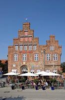 Alte Vogtei, or Old Bailiwick, Travemünde, Schleswig-Holstein, Germany