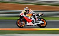 Marc Marquez during Grand Prix de la Comunitat Valenciana at Ricardo Tormo racetrack in Cheste near Valencia