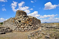 The Nuraghe Santu Ballantine from the Bronze Age, Torralba, Sassari, Sardinia, Italy
