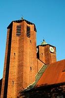 The Church of Saint Joseph in Memmingen, Bavaria, Germany