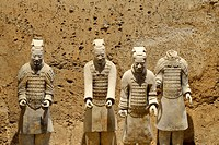 Terracotta Army, Hall 1, Mausoleum of the First Qin Emperor, Xi'an, Shaanxi Province, China