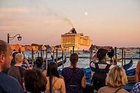MSC Fantasia, Cruise Ship, Venedig, Venice, Venetia, Italy.