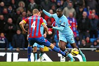 2014 Premier League Man City v Crystal Palace Dec 20th. 20.12.2014. Manchester, England. Barclays Premier League. Manchester City versus Crystal Palac...