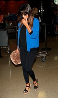 Eva Longoria arrives at Los Angeles International (LAX) airport Featuring: Eva Longoria Where: Los Angeles, California, United States When: 27 Apr 201...