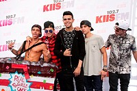 102.7 KIIS FM's 2014 Wango Tango - Arrivals Featuring: The Janoskians Where: Los Angeles, California, United States When: 10 May 2014 Credit: Nikki Ne...