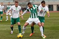Ferencvaros vs. Gyori ETO OTP Bank League football match