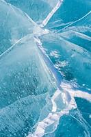 cracks in ice, Lapland, Sweden