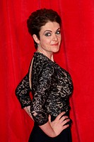 The British Soap Awards 2014 held at Hackney Empire - Arrivals Featuring: Lu Corfield Where: London, United Kingdom When: 24 May 2014 Credit: Lia Toby...
