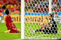 2014 FIFA World Cup - Group B match, Spain v Chile - held at Maracana Stadium Featuring: Sergio Busquets Where: Rio De Janeiro, Brazil When: 18 Jun 20...