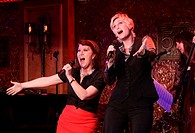 Glee star Jane Lynch rehearses her solo concert debut with special guests at 54 Below nightclub. Featuring: Kate Flannery,Jane Lynch Where: New York, ...