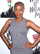 Holler If Ya Hear Me opening night at the Palace Theatre - Arrivals. Featuring: Valisia Lekae Where: New York, New York, United States When: 19 Jun 20...