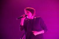 Tegan and Sara perform live at the Hammerstein Ballroom Featuring: Tegan and Sara,Tegan Quinn,Sara Quinn Where: New York, New York, United States When...