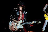 Aerosmith performs at the Fiera Milano Rho in Milan on June 25th Featuring: Joe Perry Where: Milan, Italy When: 25 Jun 2014 Credit: DB/WENN.com