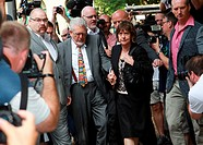 Rolf Harris arrives at Southwark Crown Court Featuring: Rolf Harris Where: London, United Kingdom When: 04 Jul 2014 Credit: WENN.com