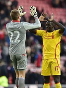 2015 Barclays Premier League Sunderland v Liverpool Jan 10th. 10.01.2015. Sunderland, England. Barclays Premier League. Sunderland versus Liverpool. M...