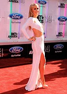 The 'BET Awards' 2014 held at Nokia Theatre L.A. - Arrivals Featuring: Paris Hilton Where: Los Angeles, California, United States When: 29 Jun 2014 Cr...