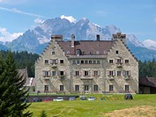 hotel and castle Kranzbach in Elmau