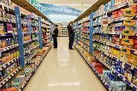 Missouri, Saint St. Louis, Clayton, Walgreens, pharmacy, drugstore, retail, chain, aisle, shelves, over-the-counter, OTC, drugs, medicine, heathcare, ...