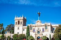 The House of Hospitality building at Balboa Park. San Diego, California, United States.