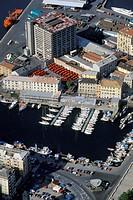 Italy, Liguria, Savona aerial view