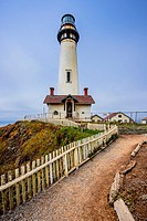 Pigeon Lighthouse, Northern California coast.