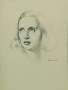 Self-Portrait, ca 1936. Artist: Lempicka, Tamara de (1898?1980)
