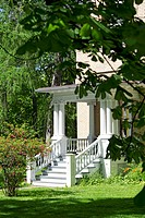 Porch of a country house