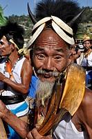 Arunachal Pradesh, Tirap region, Nocte tribe, Chalo Loku festival