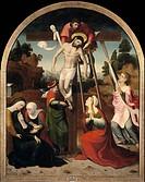 The Descent from the Cross. Artist: Correa de Vivar, Juan (c. 1510-1566)