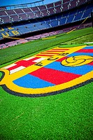 FC Barcelona (Nou Camp) football stadium.