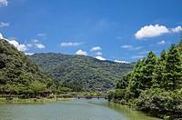 Yuanshan Township, Yilan, Taiwan, Asia, Lake,