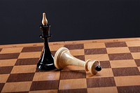 the victory in a game of chess
