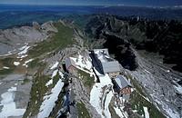 Mountain Säntis, Switzerland, canton Appenzell, Säntis - Säntis, canton Appenzel, Switzerland, 01/01/2014