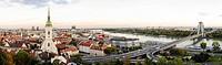 Bratislava, Coronation Church, bridge Novi Most, Slovak Republic, Bratislava, - , Bratislava, Slovak Republic, 01/01/2014