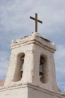 Bell Tower Of The San Francisco De Chiu Chiu Church, Antofagasta Region, Chile