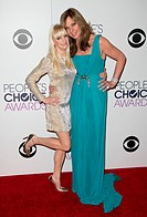 The 41st Annual People's Choice Awards - Press Room Featuring: Anna Faris, Allison Janney Where: Los Angeles, California, United States When: 07 Jan 2...