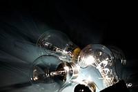 energy bulb macro close up