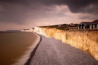 The Seven Sisters From The Birling Gap, Sussex, UK.