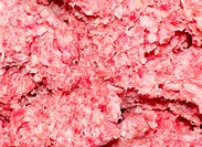 Minced meat.