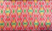 pattern of thai hand made fabric