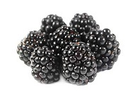 Blackberries heap