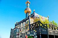 Hundertwasser district heating plan